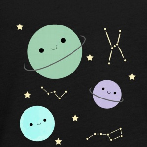 Kawaii planet - Teenager premium T-shirt med lange ærmer
