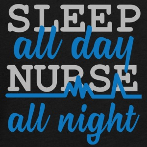 Krankenschwester: Sleep all day, nurse all night. - Teenager Premium Langarmshirt