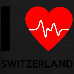 I Love Switzerland - Ich liebe Switzerland - Teenager Premium Langarmshirt