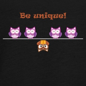 Unique OWL - Teenager Premium Langarmshirt