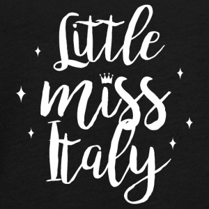 Little Miss Italien - Teenager premium T-shirt med lange ærmer