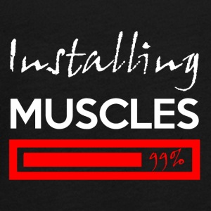 Installation muscles 99% - T-shirt manches longues Premium Ado