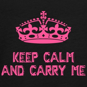 keep calm and carry me - Teenagers' Premium Longsleeve Shirt