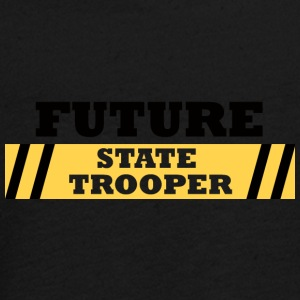 Polizei: Future State Trooper - Teenager Premium Langarmshirt