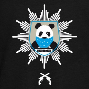 Panda coat of arms wanted pistole officially hooded lo - Teenagers' Premium Longsleeve Shirt