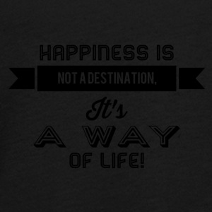 happiness is not a destination - Teenager Premium Langarmshirt