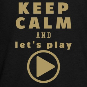 Keep Calm And Let's Play - Teenagers' Premium Longsleeve Shirt