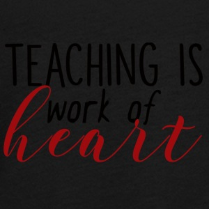 Teacher / School: Teaching Is Work Of Heart - Teenagers' Premium Longsleeve Shirt