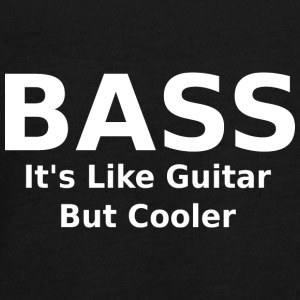 Bass it's like guitar but cooler - Teenager Premium Langarmshirt