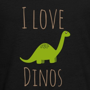 I love Dinos - Teenagers' Premium Longsleeve Shirt