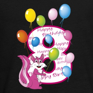 Eighth rose squirrel birthday 8 years - Teenagers' Premium Longsleeve Shirt