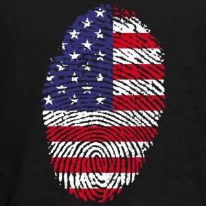Fingerprint - USA - Teenagers' Premium Longsleeve Shirt