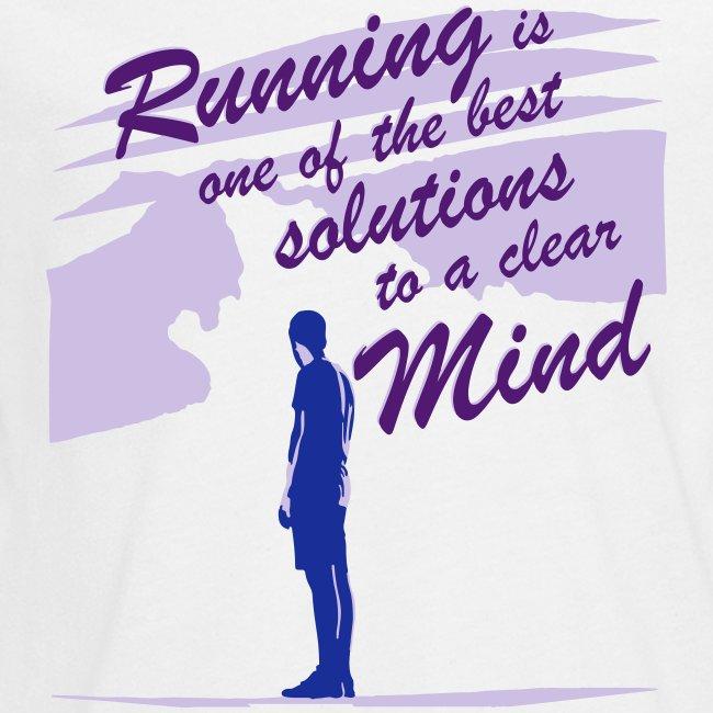"Filosofico - ""Runnig is one the best solutions"""