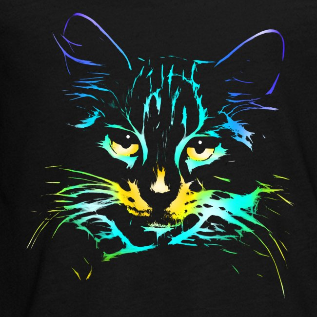 Vorschau: color kitty - Teenager Premium Langarmshirt