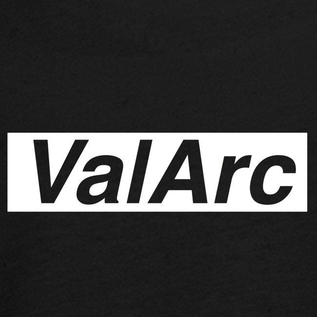 ValArc Text Merch White Background