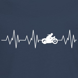 Heartbeat Motorcycling - Teenagers' Premium Longsleeve Shirt