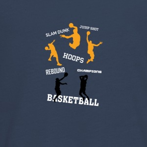basketball - Teenager premium T-shirt med lange ærmer
