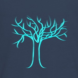 Tree of life, light blue - Teenagers' Premium Longsleeve Shirt