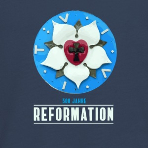 luther rose reformation 500 Kirchentag pray afhandlinger - Teenager premium T-shirt med lange ærmer