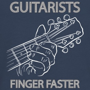 Guitarists fingerfaster - musik - Teenagers' Premium Longsleeve Shirt