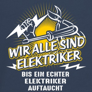 We are all electricians - Teenagers' Premium Longsleeve Shirt