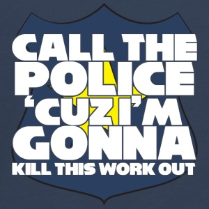 Police: Call the police 'cuz i'm gonna kill this - Teenagers' Premium Longsleeve Shirt
