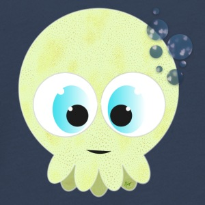 Green Baby Squid - Teenager premium T-shirt med lange ærmer