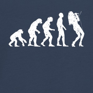 EVOLUTION SINGER! - Teenager premium T-shirt med lange ærmer