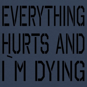 Everything Hurts - Teenager Premium Langarmshirt