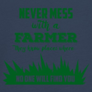 Farmer / Farmer / Farmer: Never mess with a Farme - Teenagers' Premium Longsleeve Shirt