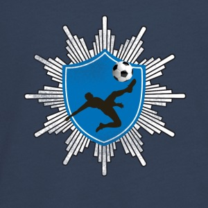 Football coat of arms ball goal shooting club team mostly - Teenagers' Premium Longsleeve Shirt