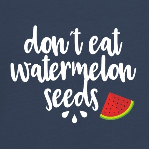 Dont eat watermelon seeds - white - Teenagers' Premium Longsleeve Shirt