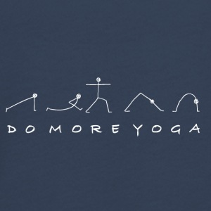 Do More Yoga in weiss - Teenager Premium Langarmshirt
