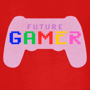 Rosa Zukünftiger Gamer Design by Juiceman Benji Gaming - Teenager Premium Langarmshirt