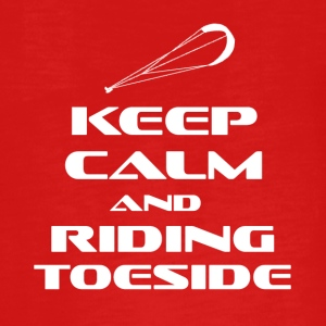 KITESURFING - KEEP CALM AND RIDING TOESIDE - Teenagers' Premium Longsleeve Shirt
