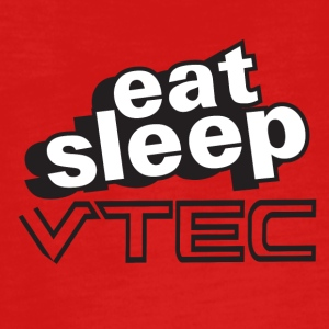 Eat Sleep VTec Design - Teenagers' Premium Longsleeve Shirt