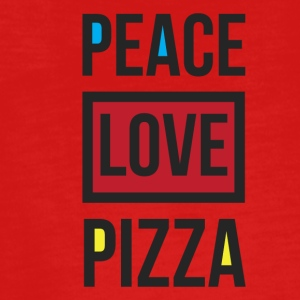 PEACE PIZZA - Teenagers' Premium Longsleeve Shirt