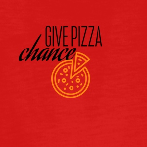 Give this pizza a chance - Teenagers' Premium Longsleeve Shirt