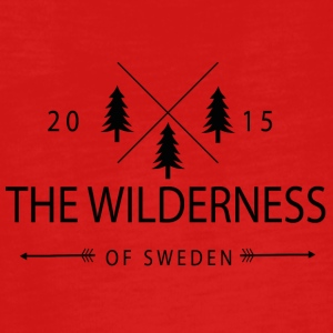 The Wilderness Of Sweden - Långärmad premium-T-shirt tonåring