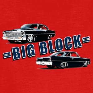 Big block Chevy II nova Super Sport - T-shirt manches longues Premium Ado