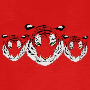 Tiger - Teenager Premium Langarmshirt
