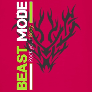Beast Mode Tribal - Teenager Premium Langarmshirt