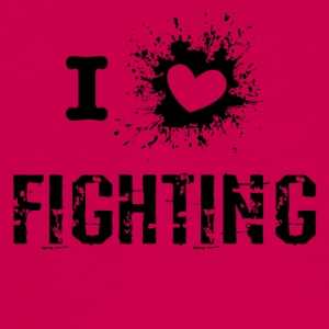 iLove Fighting - Teenager premium T-shirt med lange ærmer