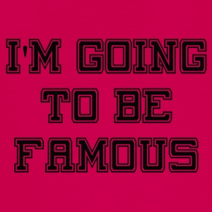 Going to be Famous - Teenagers' Premium Longsleeve Shirt