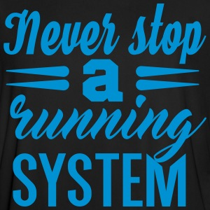 Never Stop Running - Men's Football Jersey