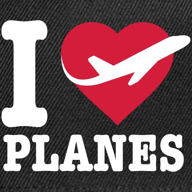 Uwielbiam samoloty - białe