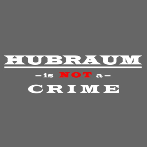 Hubraum is NOT a Crime - Snapback Cap