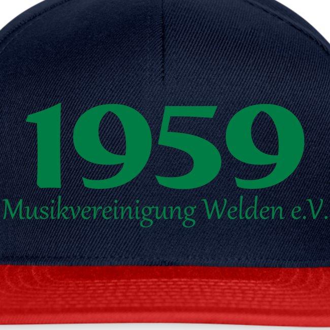 Cap 1959 einfach rot