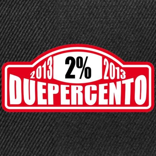 DuePerCento Monte - Snapback Cap