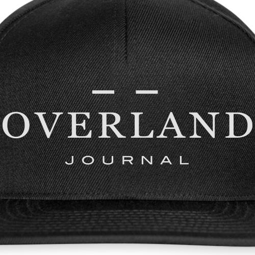 Overland Journal White - Snapback Cap